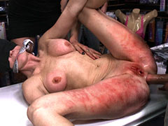 Anal after punishment